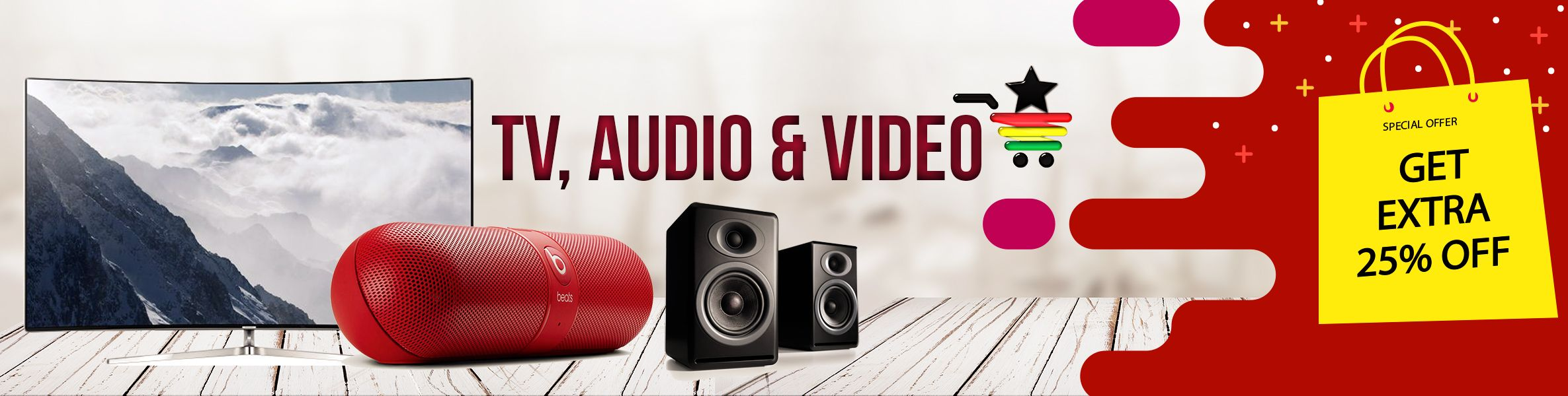 TV audio video